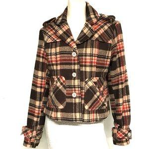 Ruff Hewn plaid lumberjack look coat